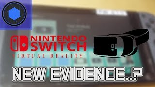 Nintendo Switch VR Is In The Switch... Are We Getting Switch Virtual Reality?