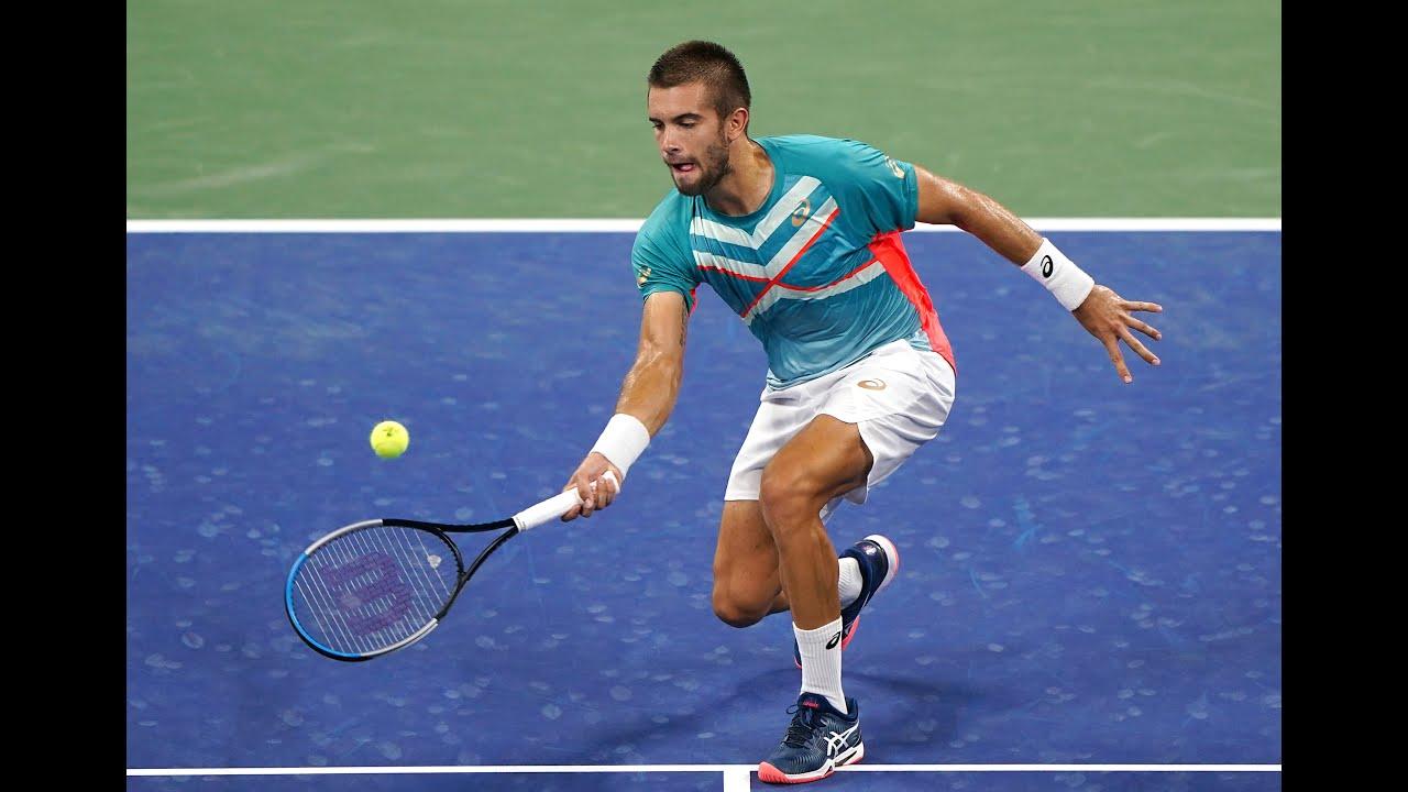 Stefanos Tsitsipas vs Borna Coric | US Open 2020 Round 3
