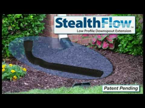 How To Install An Amerimax Stealthflow Flexible Downspout