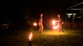 Fire performance from Strange Days 5 - July 11, 2015