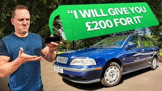 Flipping A £195 Car For Profit In 24 Hours
