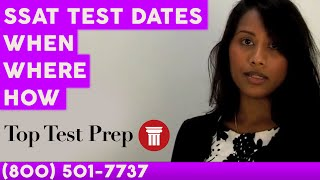How to Signup for the SSAT Exam/Test - TopTestPrep.com