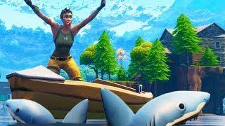 SHARK ATTACK TRAP!   Fortnite Battle Royale