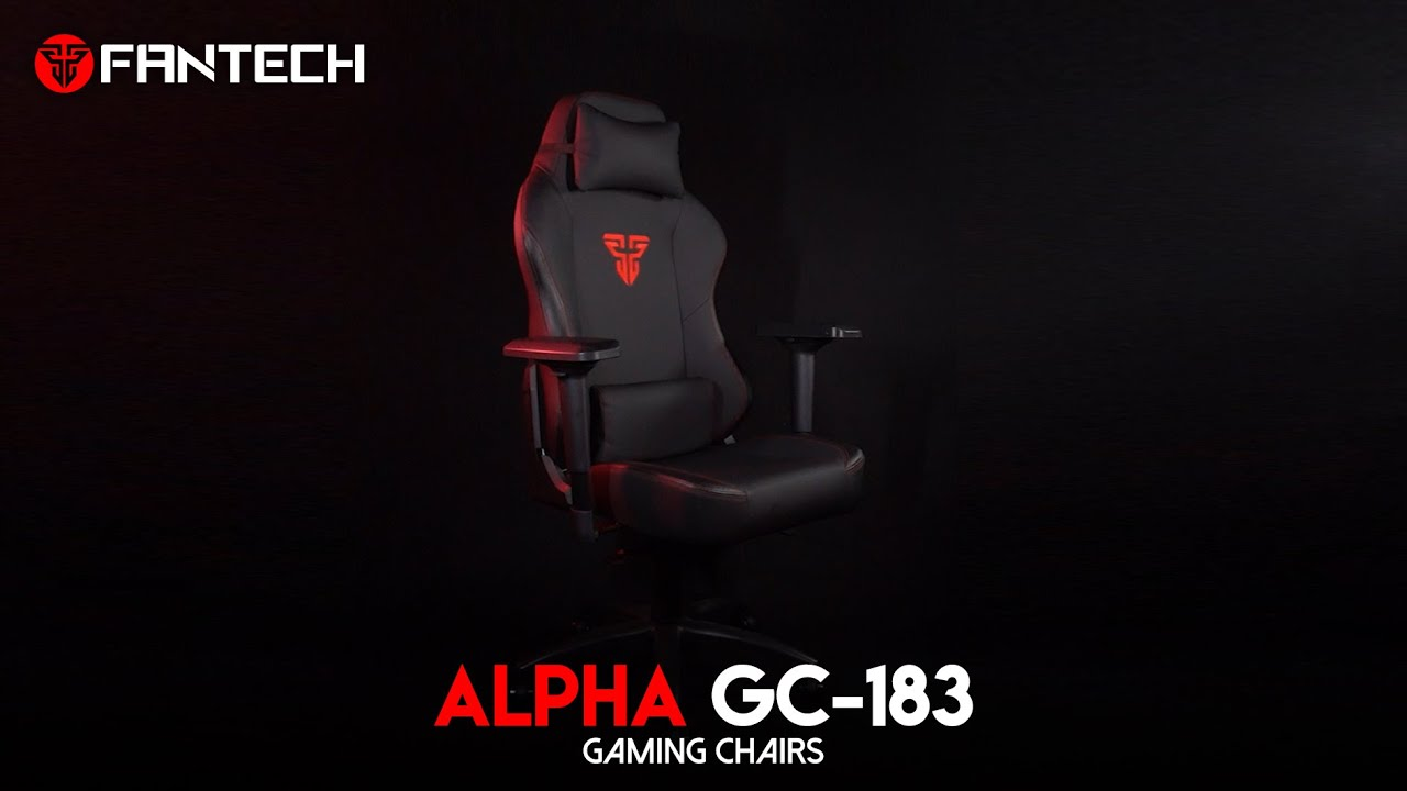 ALPHA GC-183 GAMING CHAIRS - YouTube