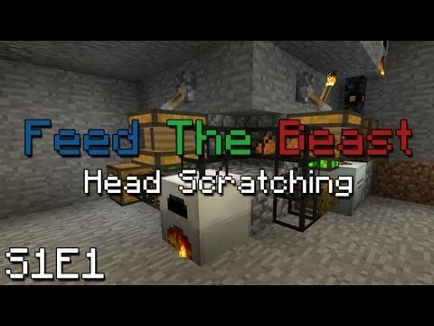 Feed The Beast: Episode 1 - Smelting Contraption