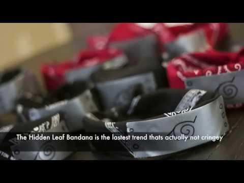 The Hidden Leaf Village Bandana - YouTube c88721b74ba
