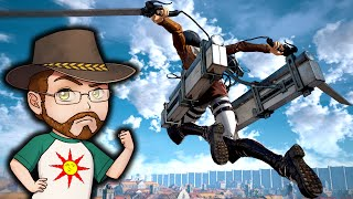 Attack On Titan Gameplay | The Ironbreaker Chops Titans