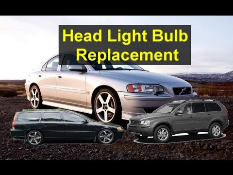 Headlight Bulbs Replacement Volvo P2 Vehicles Xc90 V70 V50 S60 Etc Votd