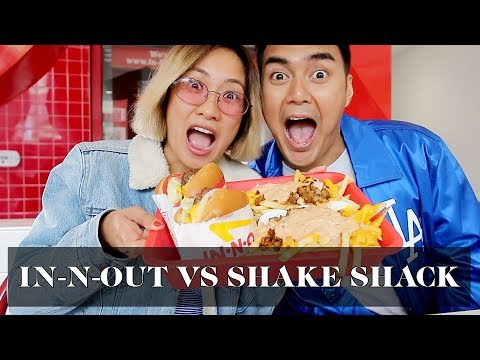 In-N-Out vs. Shake Shack | Laureen Uy
