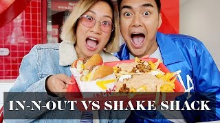 In-N-Out vs. Shake Shack | Laureen Uy
