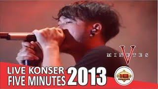 Live Konser Five Minutes - Bertahan @Tangerang, 17 Maret 2012