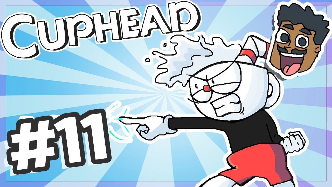 JUMPSCARE AT 12:18 - Cuphead (PC) - PART 11 - Awedecai