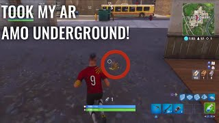 I FOUND HACKERS EN FORTNITE! PÉPIN SOUTERRAIN
