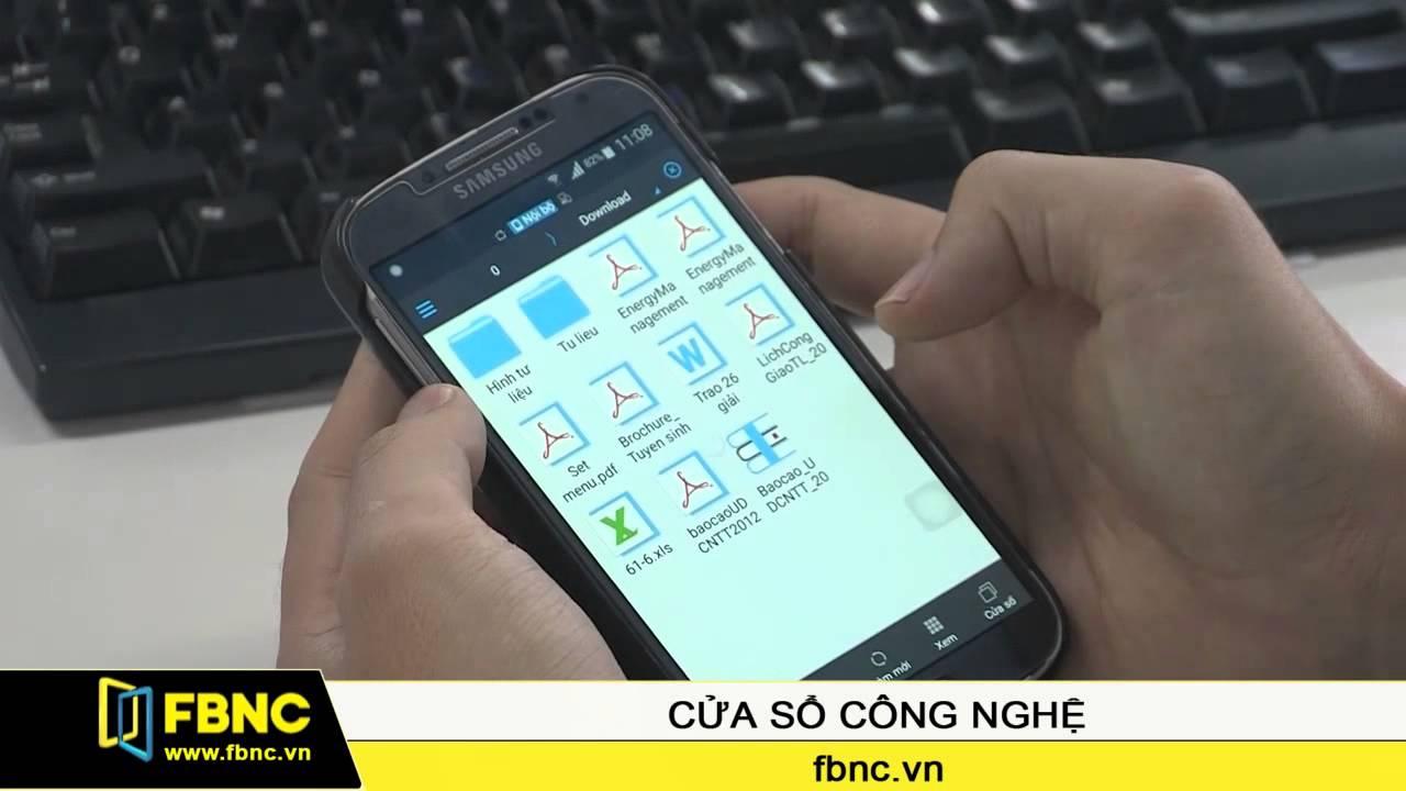FBNC – Hướng dẫn mở và tạo file nén trên thiết bị Android