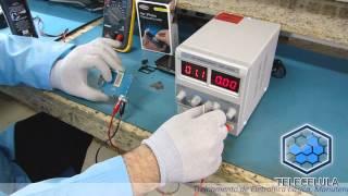 Identificando um Componente em Curto-circuito na Placa - Telecelula