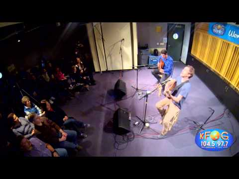 Phillip Phillips - Raging Fire (Live on KFOG Radio)