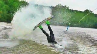 Wakeboarding CRASH Compilation