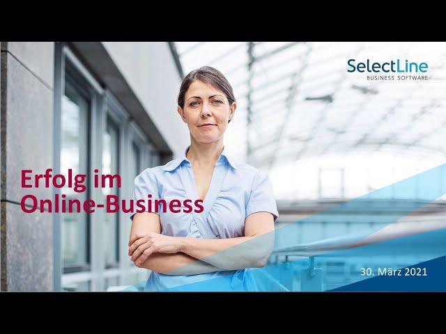 Webinaraufzeichnung Shopware mit der SelectLine verbinden mit unserem Partner SelectLine Schweiz