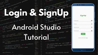 Login And SignUp In Android With MySQL