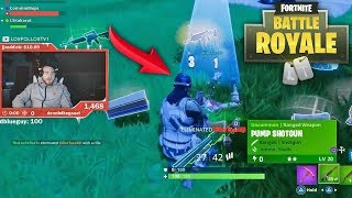 LosPollosTV Kills His Own Teammate Ft. LSK, Jesser and Mopi (Fortnite Rage, Fails, WTF Moments #1)