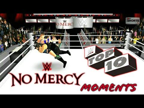 Wr3D Mods|Wwe No Mercy Top10 Moments|Wrestling Revolution 3D