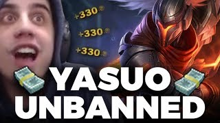 DOM FINDS A YASUO??? (New 10 ban system bugged?)