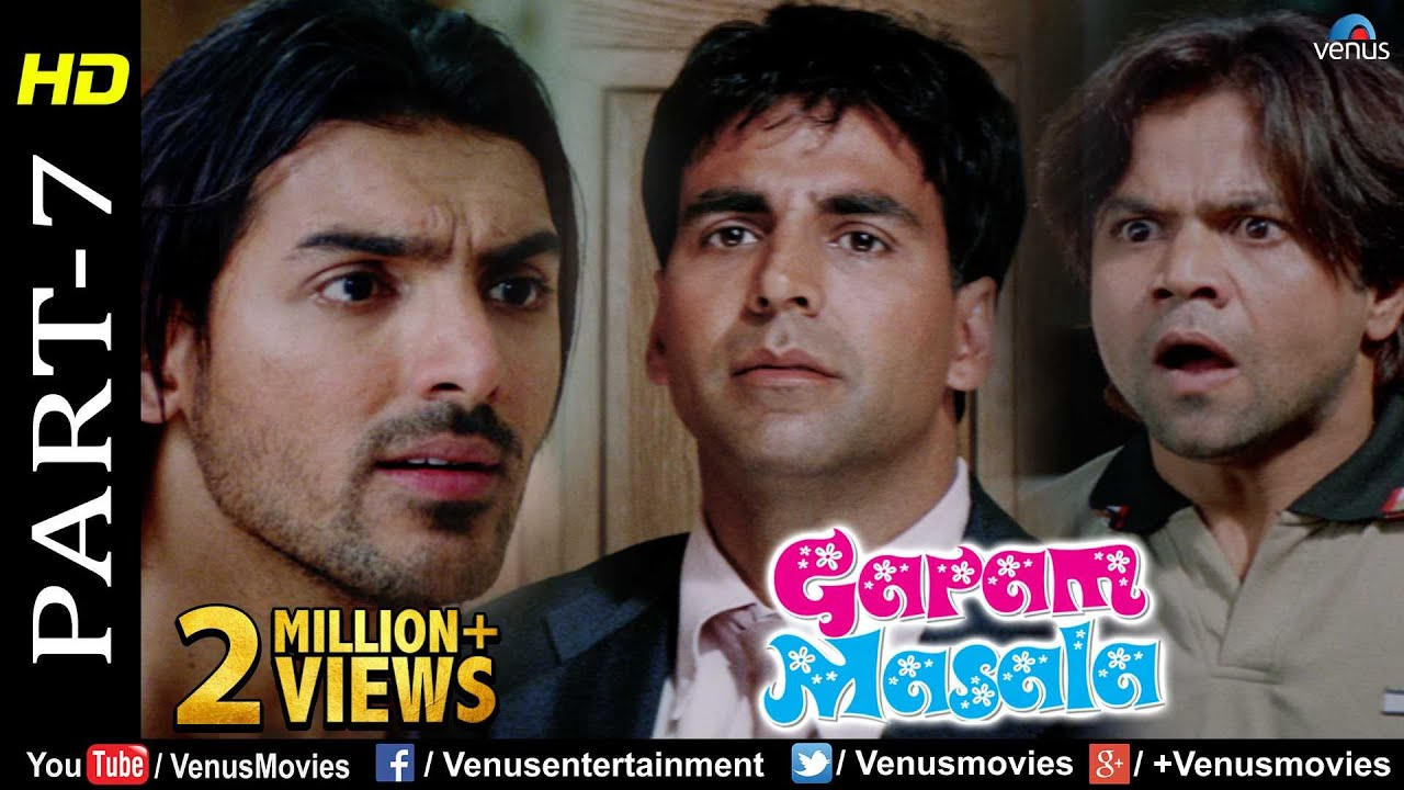 Garam Masala - Part 7 | Akshay Kumar, John Abraham & Rajpal Yadav |Hindi Movies | Best Comedy Sc
