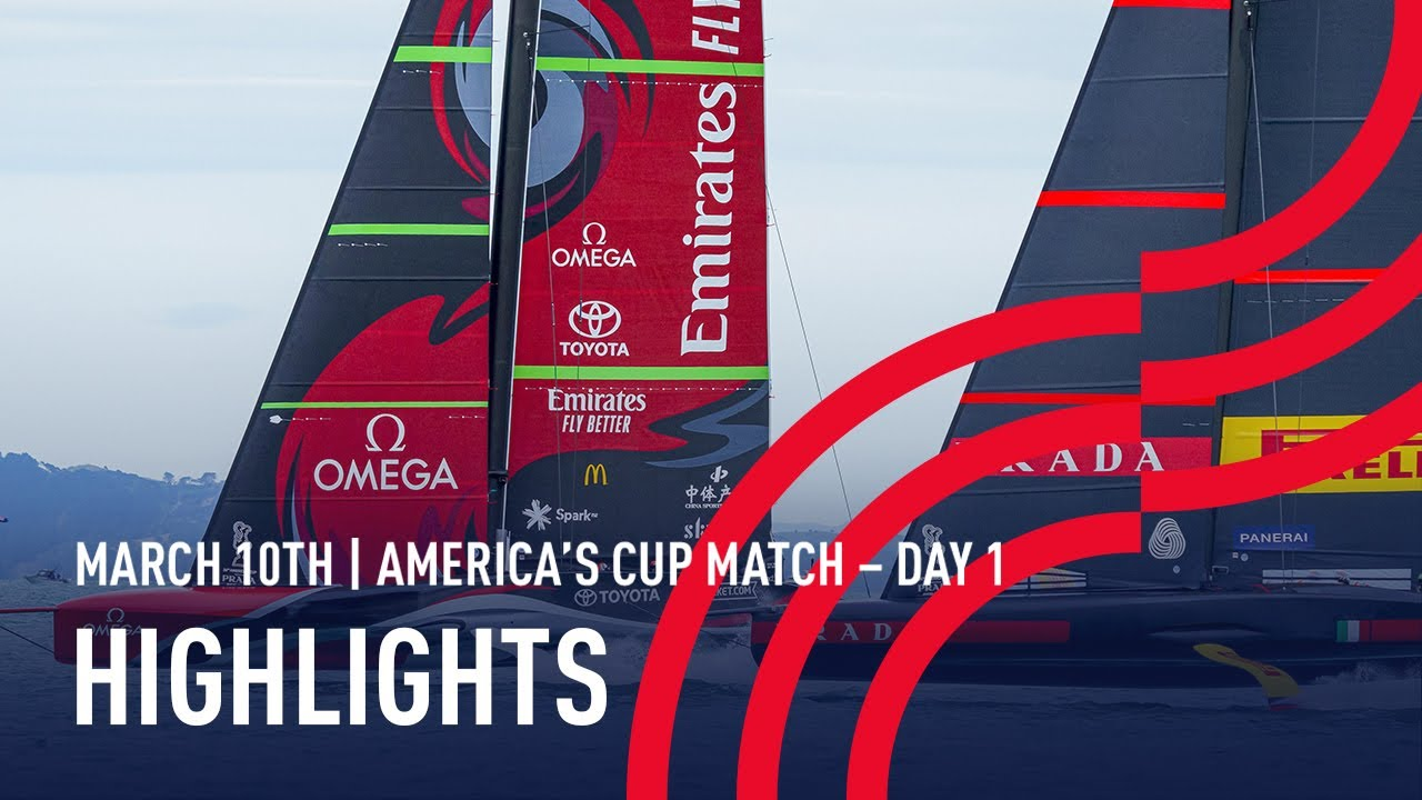36th America's Cup Day 1 Highlights