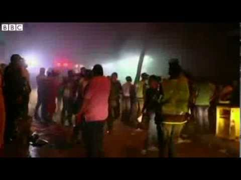 Deadly blast at Colombia supermarket