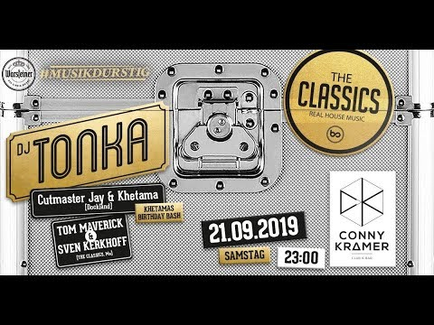 MM654 - On Air W/ The Classics Pres. DJ Tonka (Warm-up Im Club) (Classics, Disco, House)