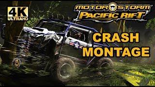 Motorstorm Pacific Rift Crash Montage in 4K! - RPCS3