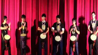 1516明愛莊月明中學家長教師晚會-非洲鼓表演