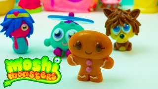 Moshi Monsters Pack Set Review Moshling Surprise Mystery Blind Bag Monster Opening Cookieswirlc