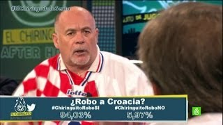 Mundial 2014: Brasil 3-1 Croacia. ¿Le han robado el partido a Croacia? - #ElChiringuitodelMundial