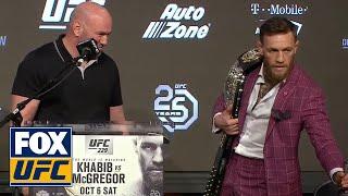 Conor McGregor and Khabib Nurmagomedov presser recap | UFC FIGHT NIGHT