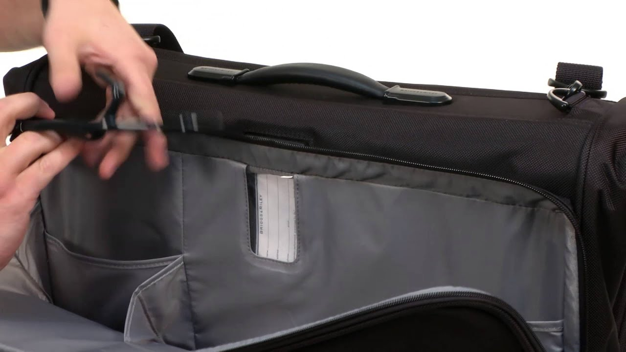 Briggs Riley Baseline Deluxe Garment Bag Sku 7924272