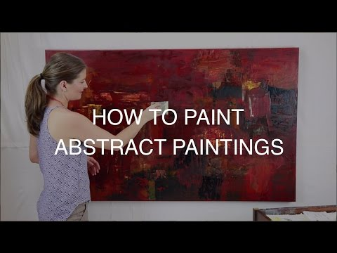 Abstract Painting Techniques with Nicola Newman