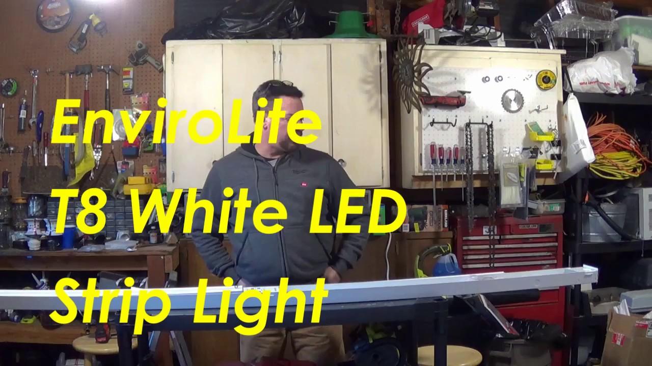 Envirolite 8 foot led strip light st704t1850 youtube envirolite 8 foot led strip light st704t1850 mozeypictures Gallery