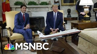 Donald Trump: 'You'll Soon Find Out' If U.S. Plans Iran Air Strike | Andrea Mitchell | MSNBC