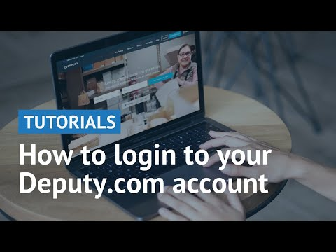 How to Log Into My Profile | Deputy Help Center