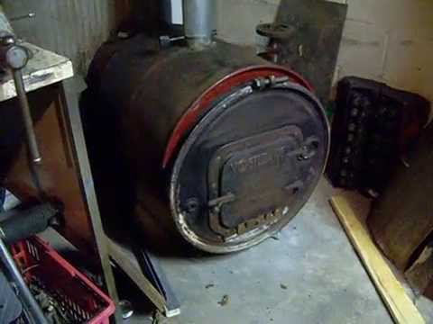 My Barrel Wood Stove With Heat Exchanger Youtube