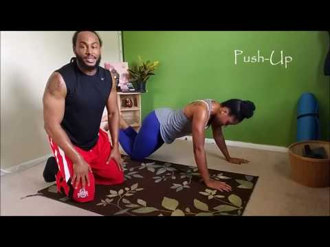 Quick 20 Minute Home Workout