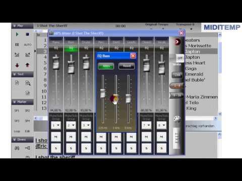 MIDITEMP MP-S MultiPerformer Software
