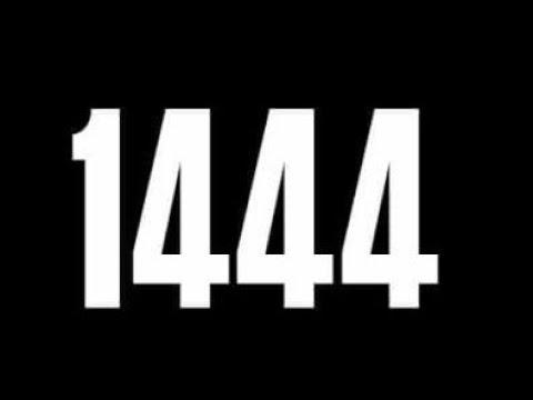 ¿Qué es el video 1444? ¿Por qué escriben la fecha?
