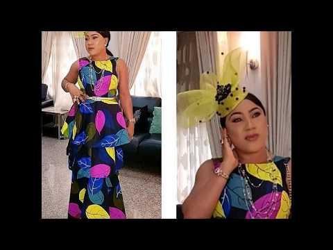2018 Ankara Gowns Styles :  Trendy and Stunning African Dresses 2018