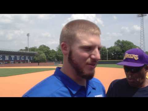 UK baseball's A.J. Reed: SEC Player of the Year