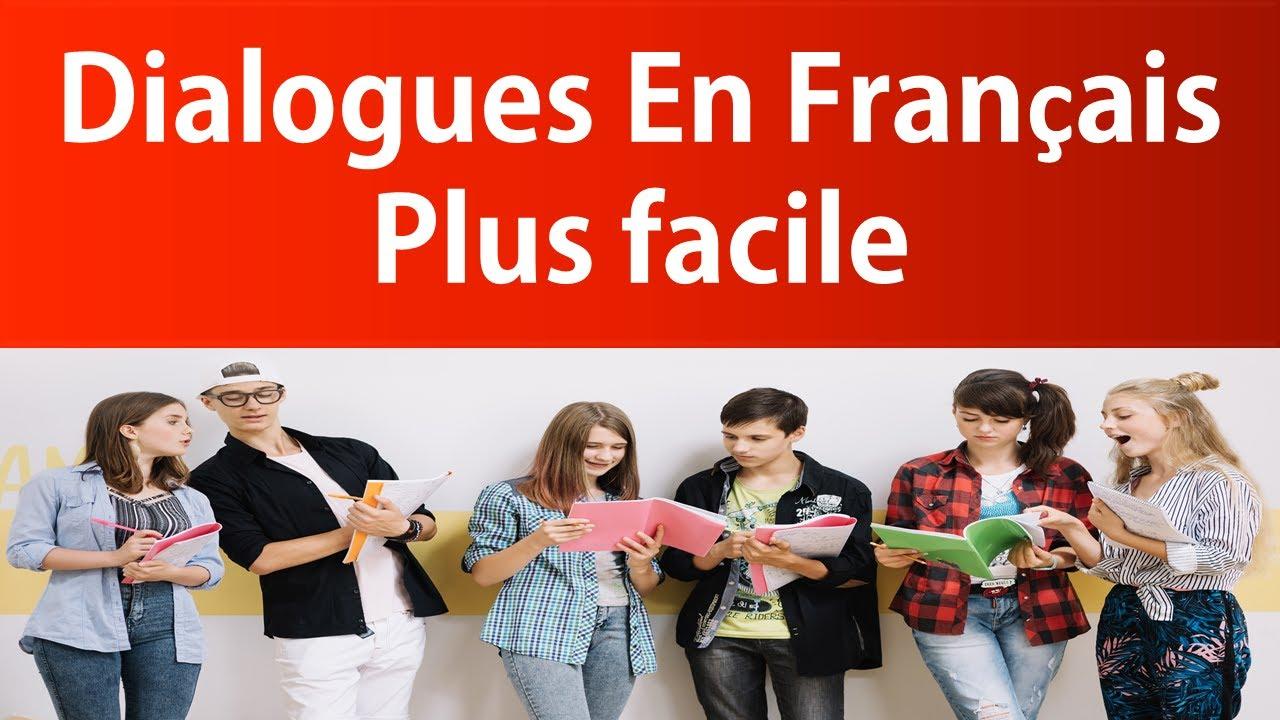 dialogues en français - niveau A 1 - dialogues entre deux personnes - 20 min