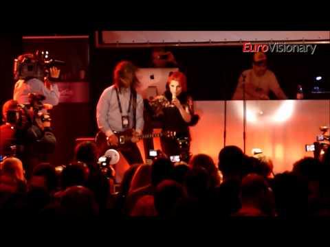 Aurela Gaçe - Feel The Passion - From Turkish party - Eurovision 2011 - Albania