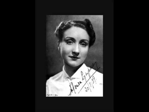 """Moura Lympany plays Schumann """"Vogel als Prophet"""""""