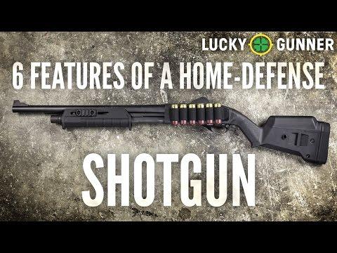 6 Features of a Home-Defense Shotgun